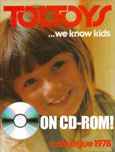 STAR WARS PROTOTYPE ACTION FIGURES 1978 HARBERT ITALY TOY CATALOG ON CD-ROM ++