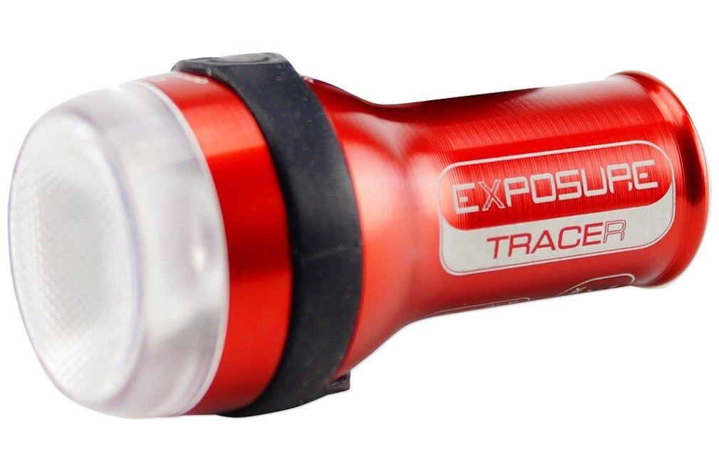 Exposure Lights Rastreador RECARGABLE USB Trasero Luz de bicicleta con daybright