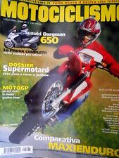 Motociclismo 7 2002 Prova Suzuki Burgman 650. TestAprilia RSV Mille Haga [Q76]