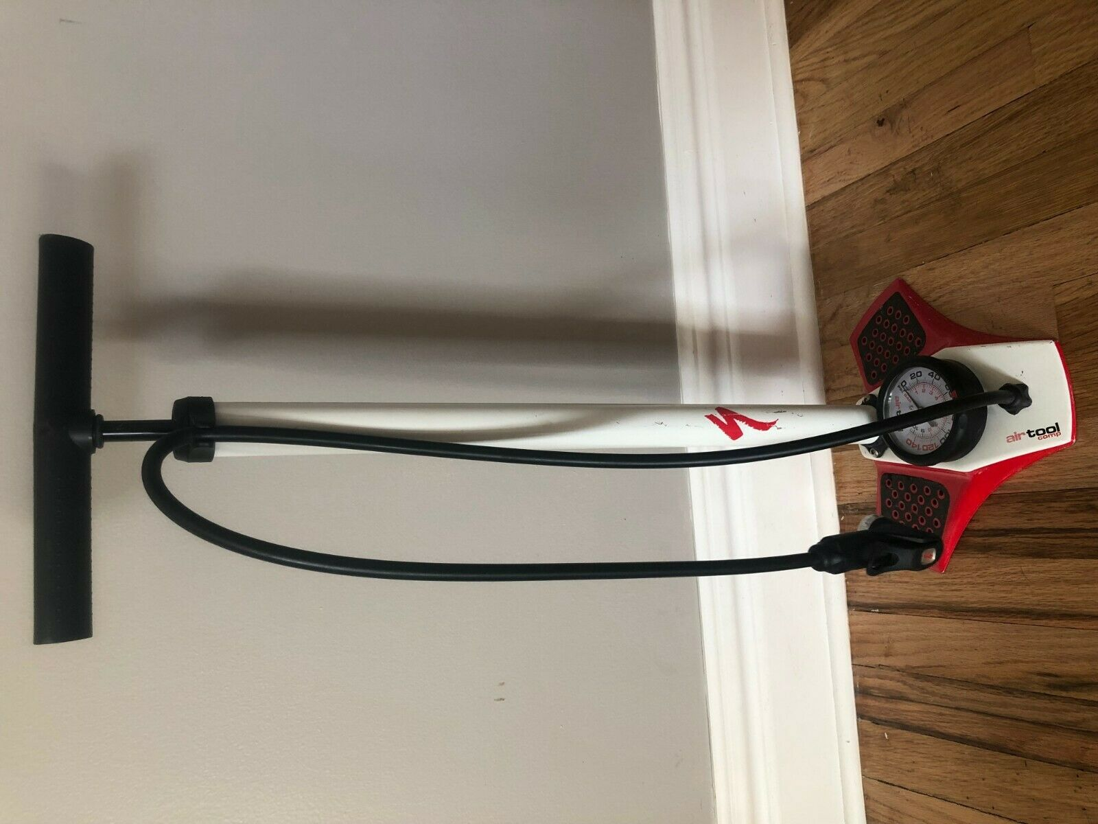 Specialized Air Tool Comp Bicycle Floor Pump Aluminum Barrel 150psi