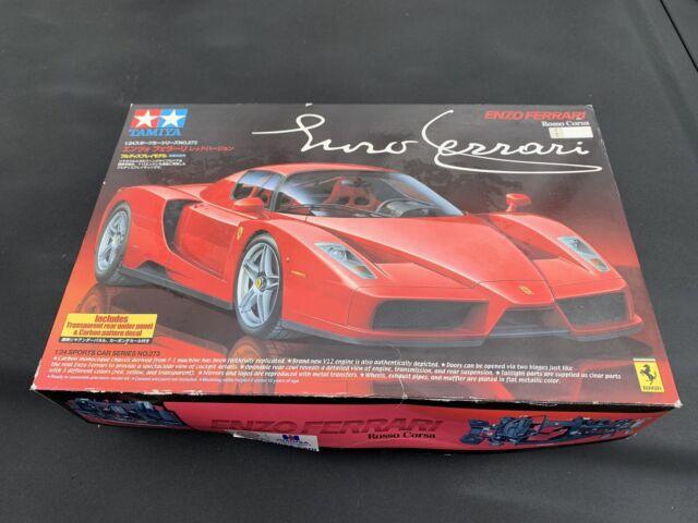Tamiya 1/24 Enzo Ferrari Rojo versión 4950344242733 24273 Coche Camión