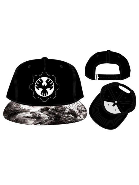 Official Gears Of War 4 Phoenix Omen Symbol Snapback Cap With