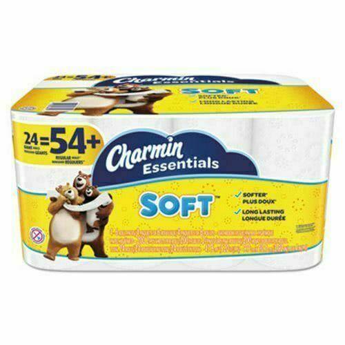 Charmin Essentials Soft Toilet Paper - 4800 Sheet Roll (24 Pack)