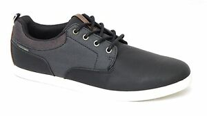 JACK & JONES chaussures baskets JFW VASPA HERRINGBONE MIX SNEAKER ANTHRACITE