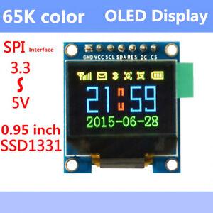 65K-Color-Screen-OLED-Display-Serial-SPI-3-3v-5v-Module-for-Arduino-Uno-AVR-51