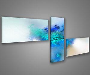 Quadri moderni astratti 180 x 70 stampe su tela canvas con telaio MIX-S/_75