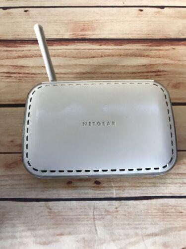 NETGEAR WGR614 54 Mbps 4-Port 10/100 Wireless G Router (WGR614v6)with Power Cord