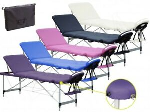 Accessori Per Lettino Da Massaggio.Lettino Per Massaggi 3zone In Alluminio Lettini Da Massaggi Portatile Pieghevole Ebay