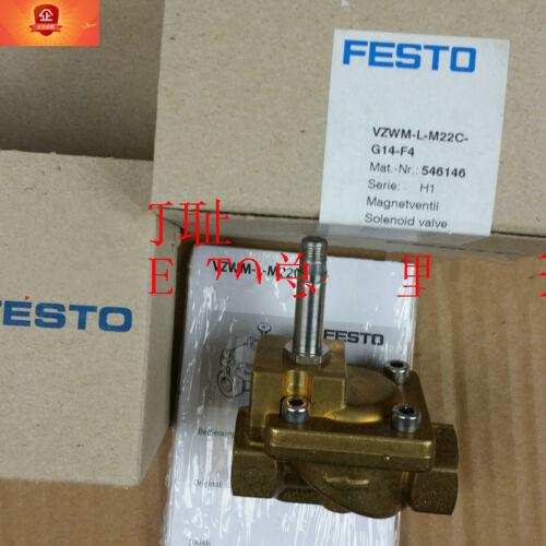 1pcs FESTO VZWM-L-M22C-G14-F4 546146