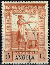 Portuguase Angola Colonial Empire Famous Explorer Vasco Da Gama stamp 1938