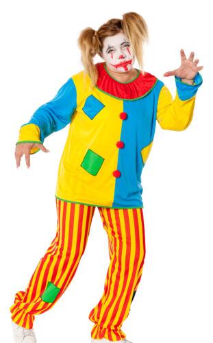 Horror Clown Kostüm Damen Killer Grusel böser Clownkostüm Wäschebeutel