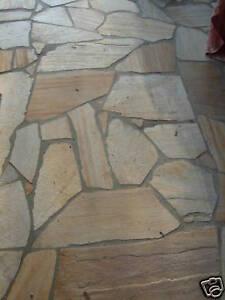 Quarzit Terrassen Polygonalplatten Naturstein Fliesen Ebay