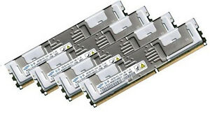 4x 2GB 8GB RAM komp. IBM (2x) 39M5789 667Mhz FBDIMM DDR2 FullyBuffered