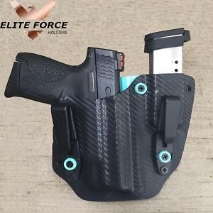 Se adapta a Sig Sauer P365 dentro de la cintura KYDEX ocultamiento Pistola Mag Funda Combo Personalizado