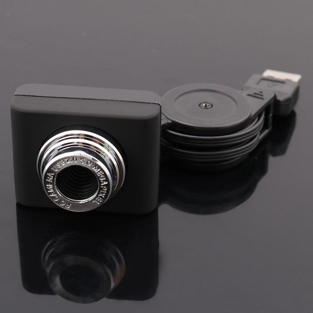 USB 2.0 50MP HD Mini Digital Webcam Camera Web Cam For Computer PC Laptop HJ