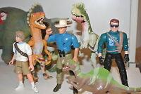 Jurassic Park Alan grant action figures Ian Malcolm Triceratops T-Rex (JP06)