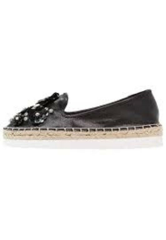 Head over Heels by Dune ENISTA Espadrilles Black UK 4 EU 37 JS42 44 SALEs