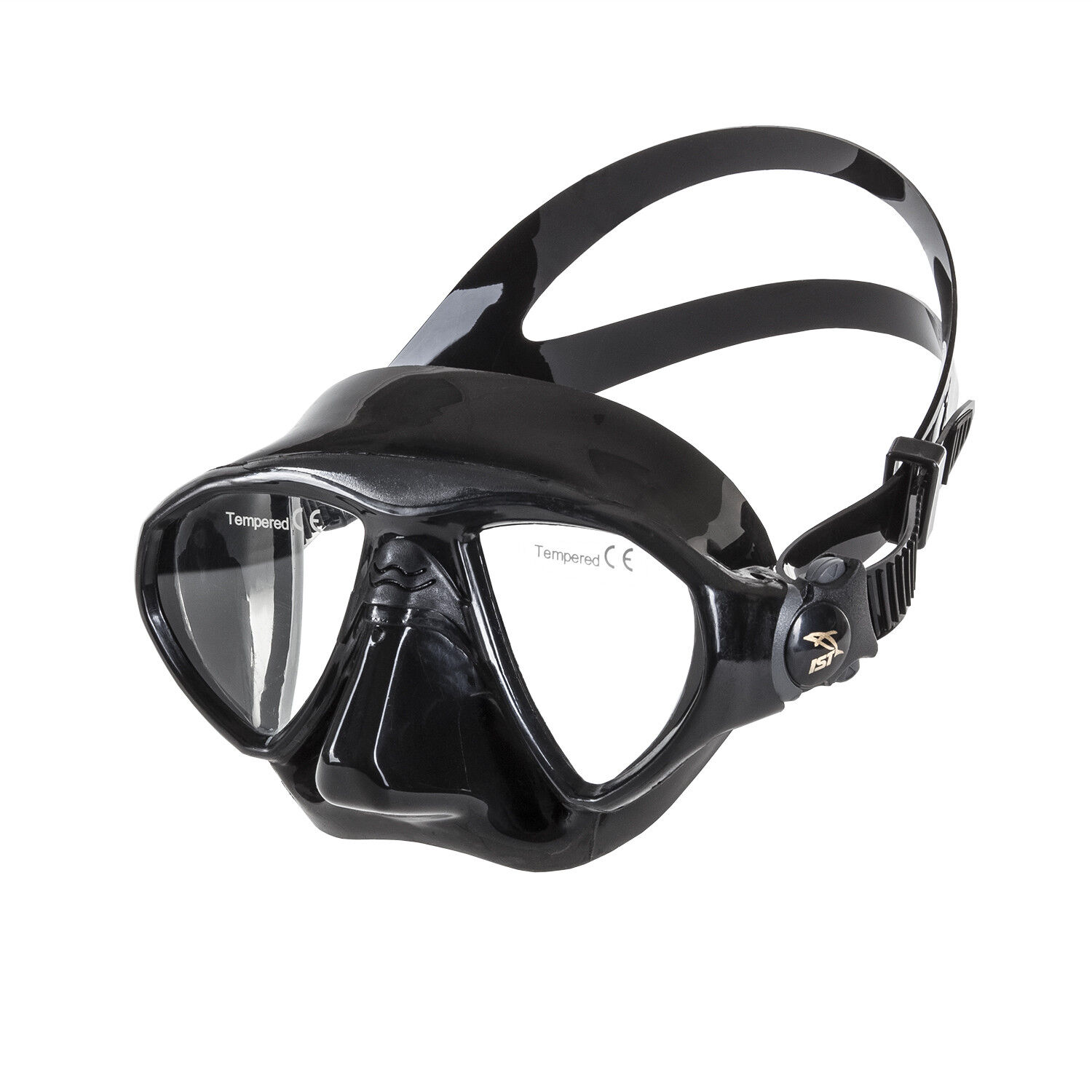 IST M-99 SEAL Low Volume Twin Lens Diving Snorkeling Mask w  Integrated Skirt
