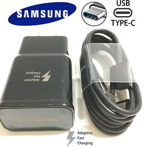 New-Original-Samsung-Galaxy-S9-S8plus-Note-8-Fast-OEM-Wall-Charger-Type-C-CABLE