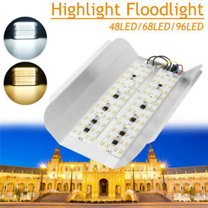 30W-50W-100W-LED-Lampe-Floodlight-Projecteur-Eclairage-Lumiere-Jardin-Exterieur