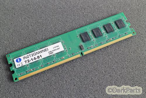 Integral IN 2 T 2 GNWNEI 2GB DDR2-667 di memoria RAM 72-14-81