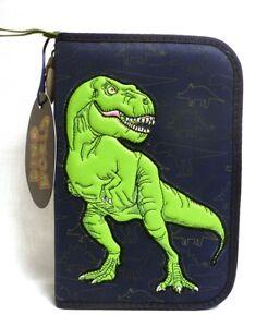 Depesche-6522-A-Dino-World-Federtasche-DeLuxe-Schulmaeppchen-Junge-Dinosaurier-bl