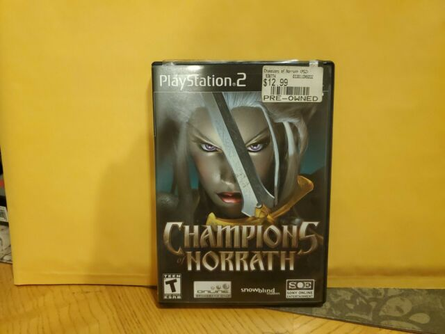 Champions of Norrath Realms of EverQuest (Sony PlayStation 2, 2004) Complete PS2