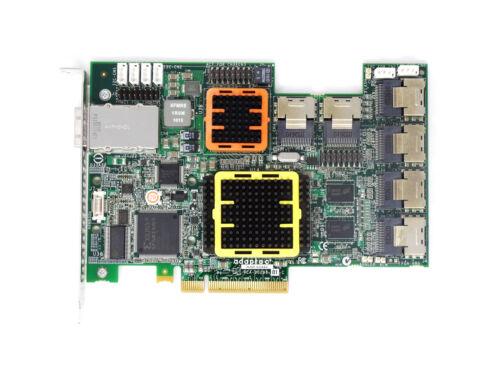 ASR-52445 Adaptec 512MB PCIe 28-Port 24 Internal 4 External SAS Raid Controller