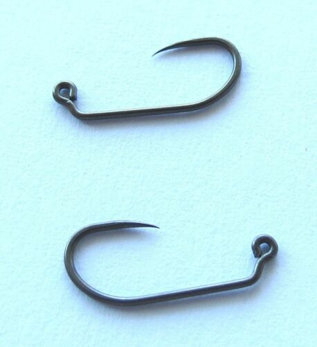 25 400BL Czech Made Nymph Jig Hooks #10 #8 fly tying