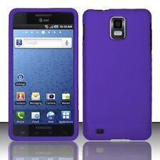 Hard Rubberized Case for Samsung Captivate Glide i927 - Purple