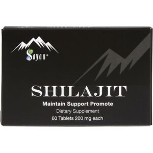 100-pure-SHILAJIT-RESIN-60tablets-200mg-from-Altai-Mountains