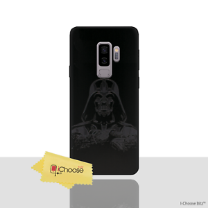 promo code 2515a 97c1a Details about Star Wars Case/Cover Samsung Galaxy S9 Plus (G965) / 3D  Silicone / Darth Vader