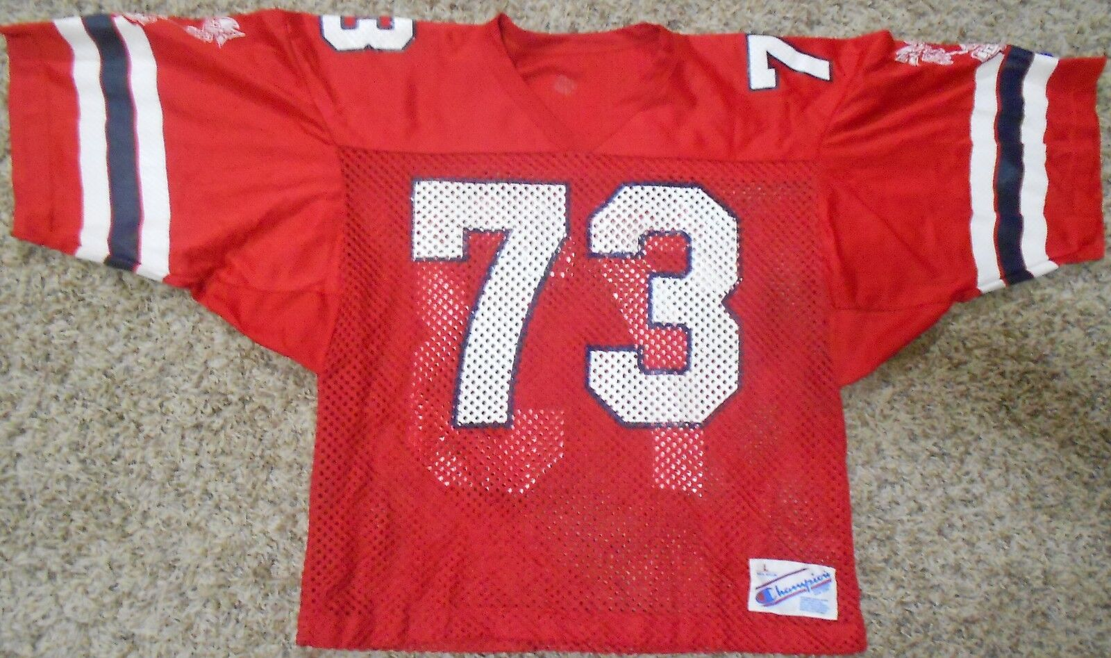 Cgoldnado Dons  Vintage Champion High School Football Jersey Large Red AZ