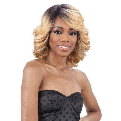 Equal Synthetic Diagonal Part Love Blossom Lace Front Wig