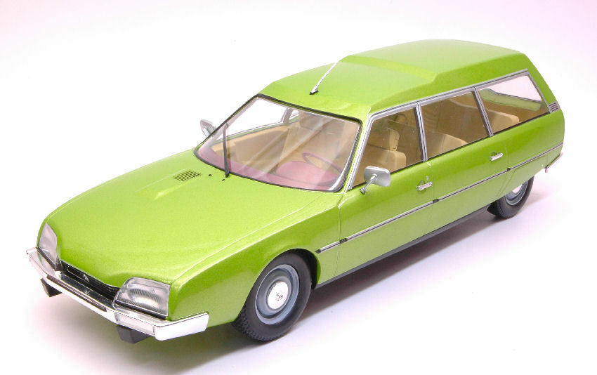 Citroen Cx 2200 Super Break Series 1 1976 Metallic Green 1 18 Model