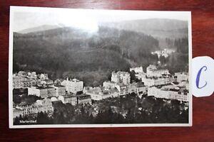 Carte Postale Vue Carte Autres Marienbad-afficher Le Titre D'origine