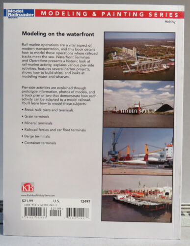 KALMBACH WATERFRONT TERMINALS /& OPERATIONS train O HO N GAUGE book 12497 NEW