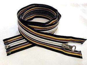 cerniera utilizzabile su KWAY Chiusura lampo 6 nylon multicolore  da 10 a cm.80