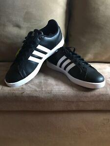 adidas black shoes cloudfoam