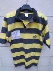 VINTAGE Maillot rugby porté n°3 STADE MONTOIS Puma match worn shirt coton XL 90'