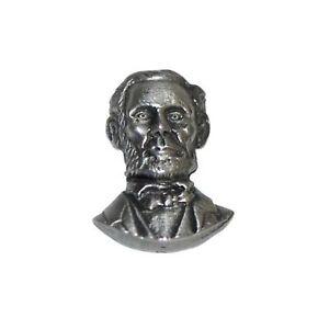 Abraham Lincoln Badge en Étain Broche / Américain President USA Cadeau Neuf / N