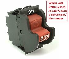 Table Saw And Drill Press On Off Toggle Switch 2 Prong Fit Yours Read Photo
