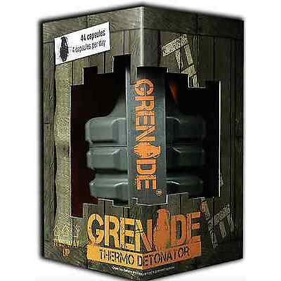 GRENADE thermo detonator 44/100 caps weight loss fat burner VERY  FAST DELIVERY