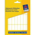Avery Zweckform Vielzweck-etikett 3336 50x14mm weiß Inh.