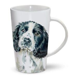 SPRINGER-SPANIEL-Tall-Latte-Mug-A-Great-Gift-for-a-Dog-Lover-Free-P-amp-P