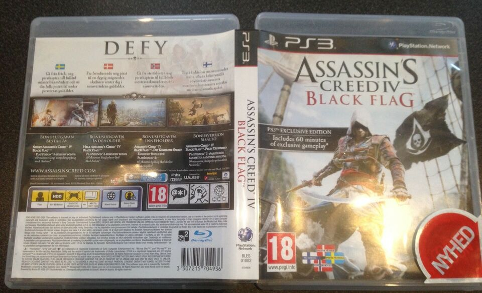 ASSASSIN'S CREED IV BLACK FLAG, PS3, adventure