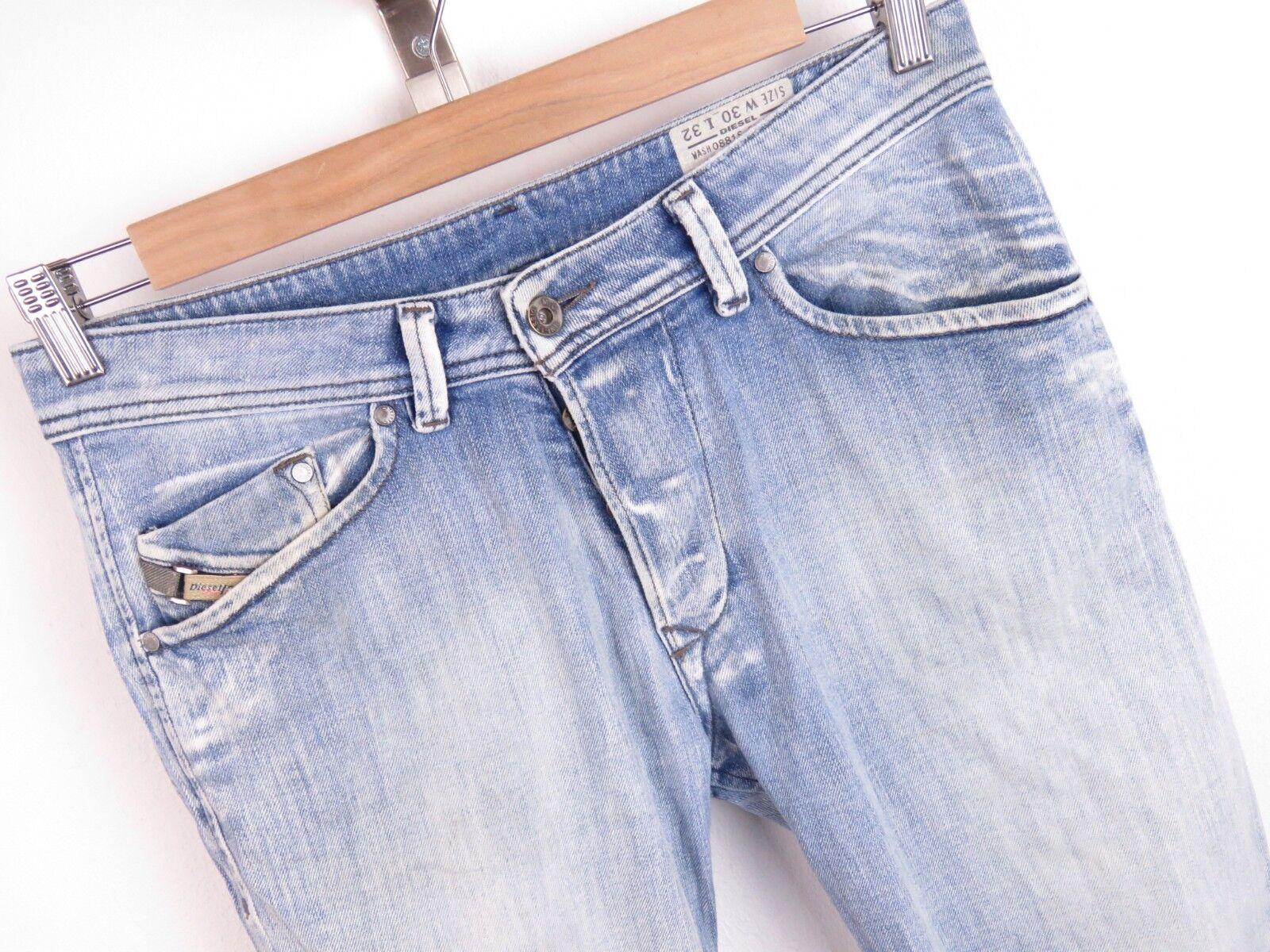 B87 DIESEL JEANS PANTS ORIGINAL DARRON REGULAR SLIM TAPERED STRETCH size W30L32