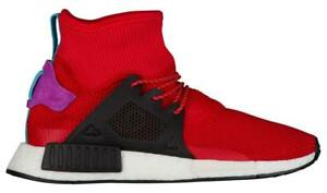 online store 9131f 04b16 Details about Mens Adidas NMD_XR1 Winter Primeknit Fitness Red Trainers  BZ0632