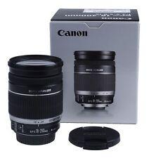Canon EF-S 18-200mm 18-200 mm 3.5-5.6 is viaje zoom para eos canon-distribuidor Nuevo