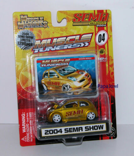 Muscle Machines 2004 Sema Show Muscle Tuner Nissan March 1//1296 1:64 M1